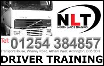 NORTH LANCS TRANSPORT TRAINING
